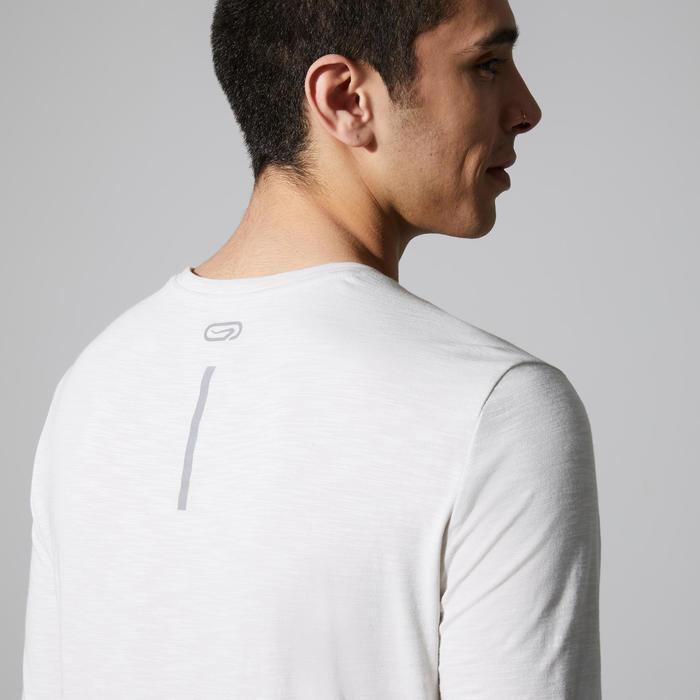 Hardloopshirt met lange mouwen Run Dry+ Beige