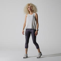 Joggingtopje voor dames Run Feel wit