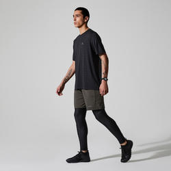 T-shirt Run Dry+ Feel zwart
