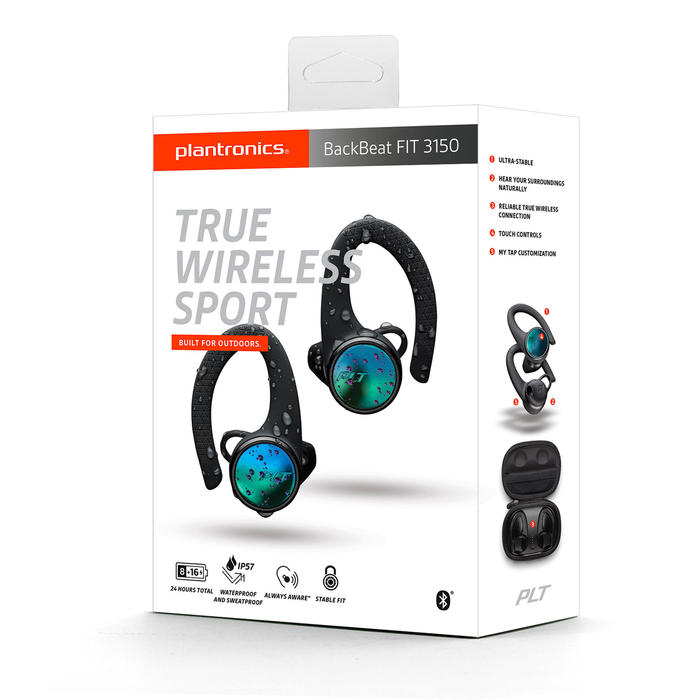 Écouteurs Sport semi intra-auriculaires bluetooth BACKBEAT FIT 3150