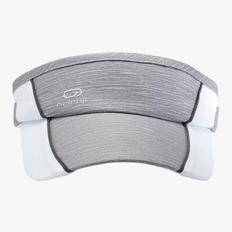 Adjustable Visor Running  Grey