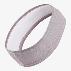Hoofdband voor hardlopen grijs/paars