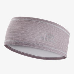 RUNNING HEADBAND GREY/PURPLE