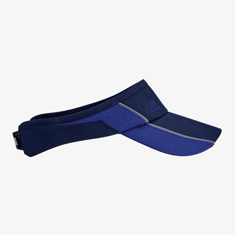 Visera Running Hombre Mujer Azul Marino\nAjustable