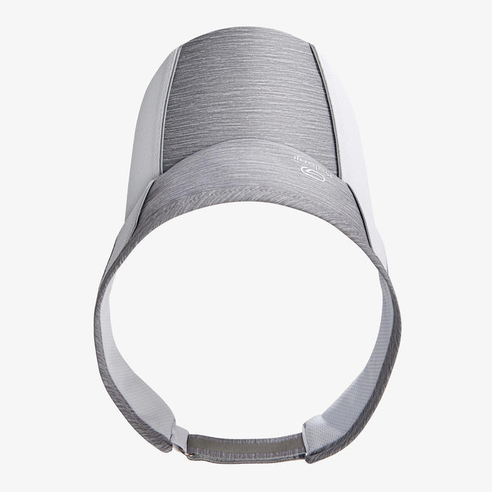 ADJUSTABLE RUNNING VISOR - GREY MEN WOMEN