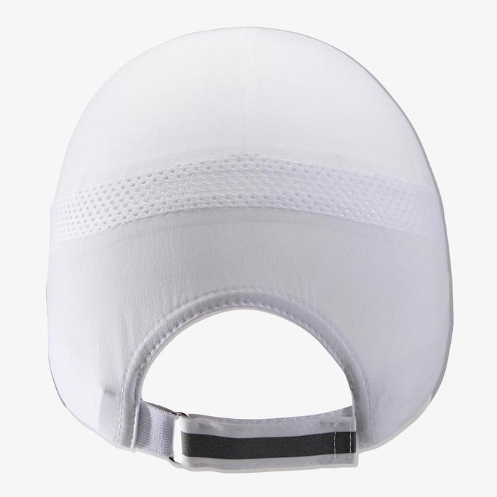 可調式 跑步帽 - 白色