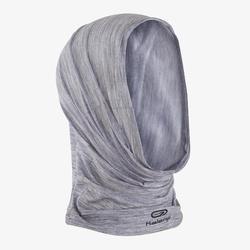 Multifunctionele hoofdband voor hardlopen gemêleerd grijs