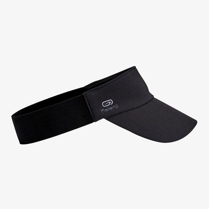 男款女款 慢跑遮陽帽 - 黑色