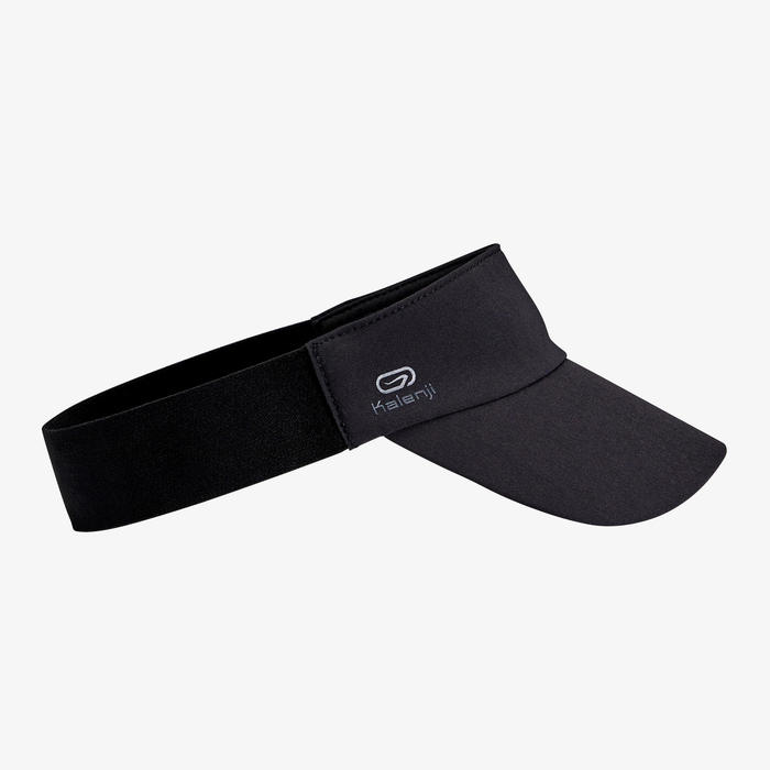 JOGGING VISOR MAN WOMAN - BLACK