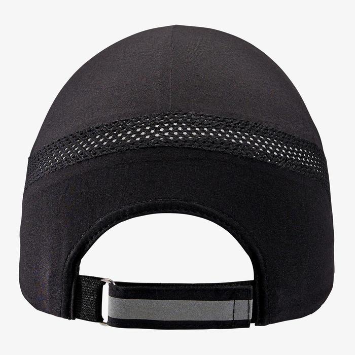 可調式跑步帽 - 黑色 男款女款