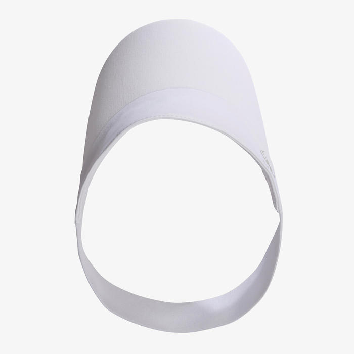 JOGGING VISOR WOMEN MEN - WHITE