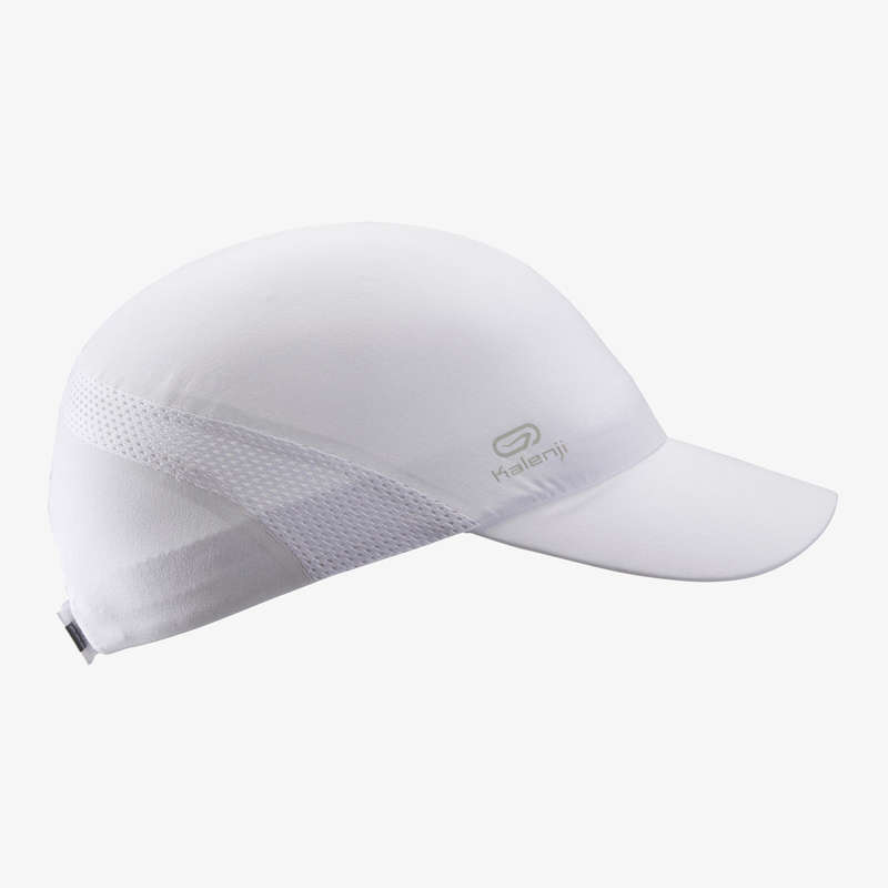 SUN PROTECT RUNNING ACCESSORIES Running - RUN WHITE UNISEX KALENJI - Running Clothing