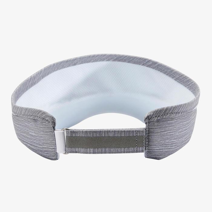 可調式跑步遮陽帽 - 灰色 男款女款