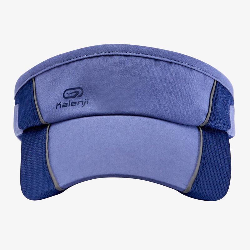 หมวกเปิดศีรษะสำหรับผู้ชาย/ผู้หญิงใส่วิ่งแบบปรับได้ (สีฟ้า)