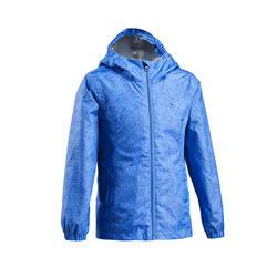 Kids' waterproof hiking jacket MH500