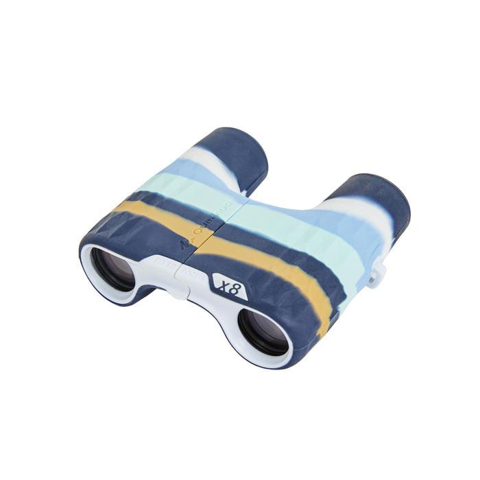 Kids' no adjustment hiking binoculars MH B120, 8 X magnification - Blue