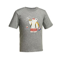 Children's Hiking T-shirt MH100 - GREY