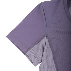 W Crop Purple