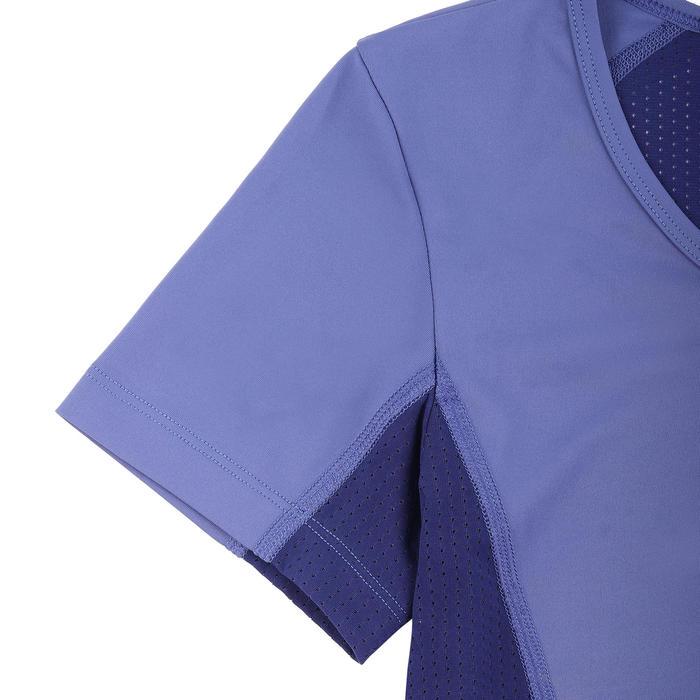女款短版上衣-藍色
