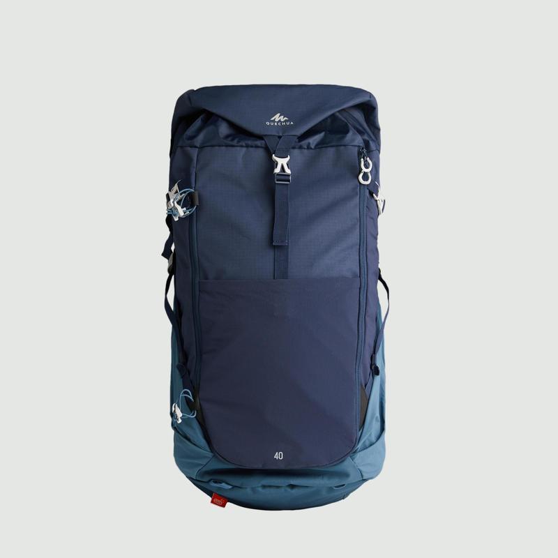 เป้สะพายหลังเพื่อการเดินป่าบนภูเขารุ่น MH500 ขนาด 40 ลิตร (สีน้ำเงินเข้ม)