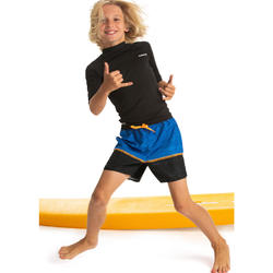 Bañador Niño Surf Olaian 100 Tween Japline Naranja