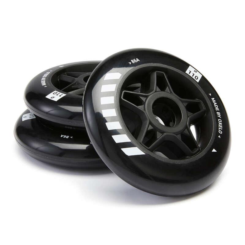 Взрослая защита Роликовые коньки - Колеса для роликов 110 мм OXELO - Семьи и категории