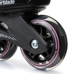 Fitnessskeelers voor dames Bravo Rollerblade zwart/paars