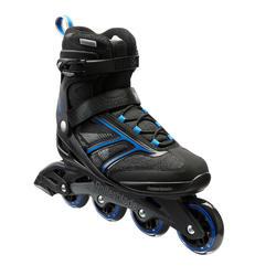 Roller fitness homme BRAVO ROLLERBLADE noir bleu