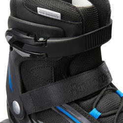 Fitnessskeelers voor heren Bravo Rollerblade zwart/blauw