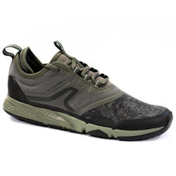 Chaussures marche sportive femme PW 580 WaterResist kaki