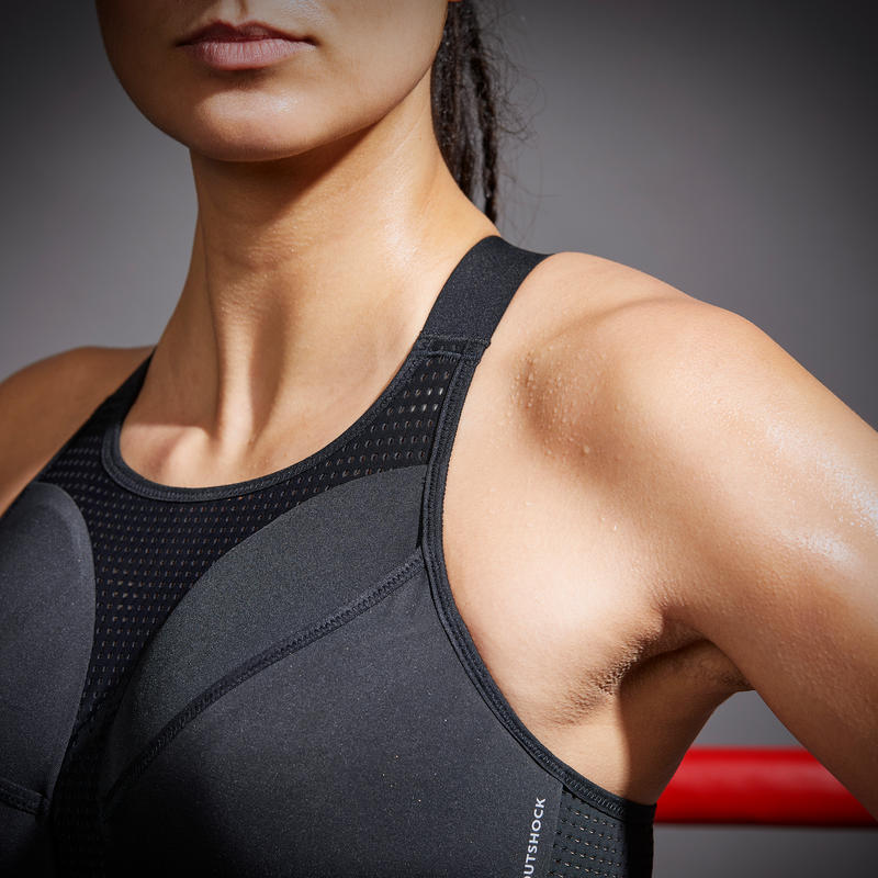 Boxing 2-In-1 Sports Bra: Support and Protection