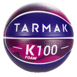 K100 Foam. Kids' Size 1 Mini Foam Basketball. Up to age 4.