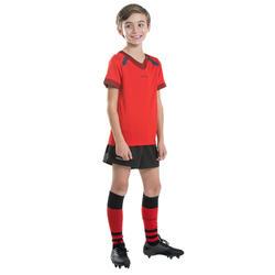 Maillot de rugby R100 Enant Rouge Bordeaux
