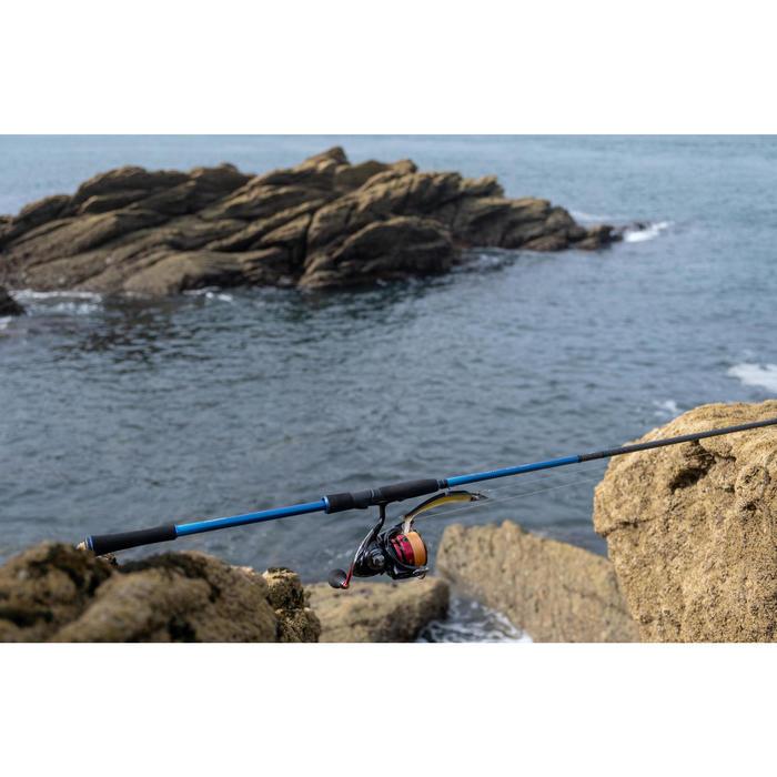 Canne à bulle de pêche aux leurres en bord mer ILICIUM-500 360