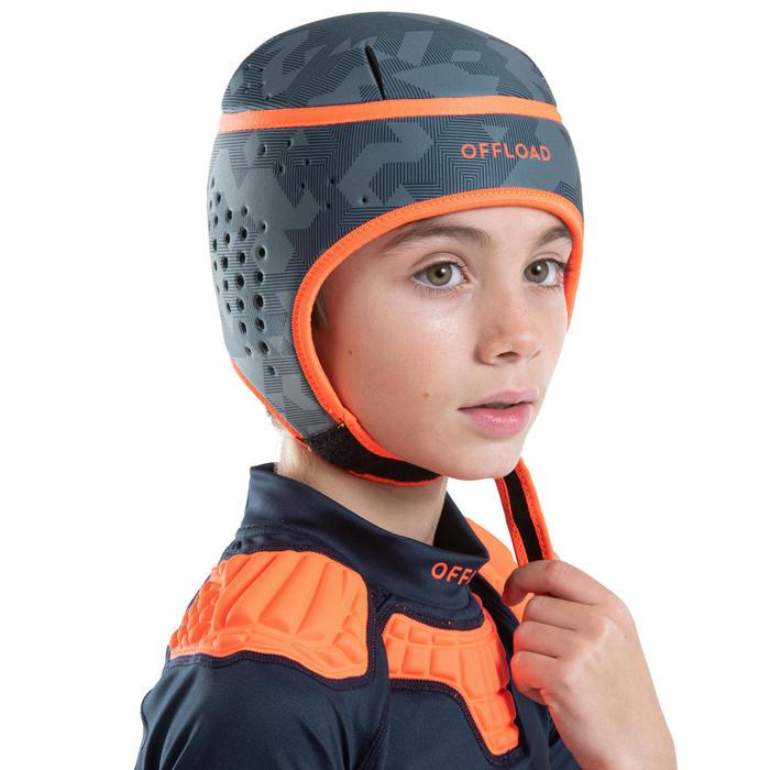 Scrumcap voor kinderen R100 grijs