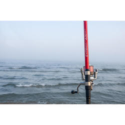 Ensemble de pêche en surfcasting canne et moulinet SYMBIOS LIGHT-500 390
