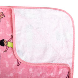 兒童款衝浪毛巾衣500(110到135 cm)-衝浪款