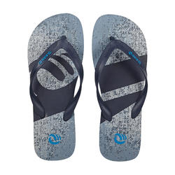 男款夾腳拖鞋120-單寧藍