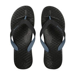 Men's FLIP-FLOPS 500 - Grey Black