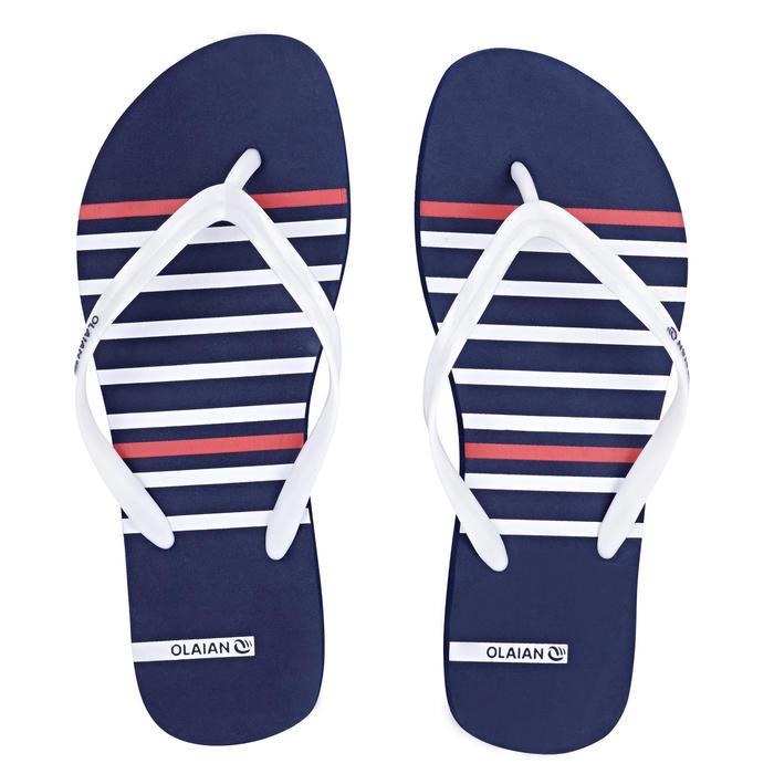 女款夾腳拖鞋120-條紋款