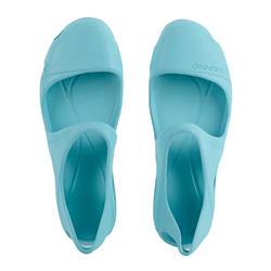 女款涼鞋B100 Inj-淺碧藍色