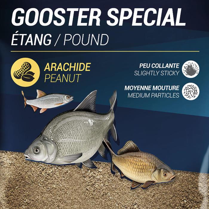 Lokaas speciaal voor vijvervissen Gooster 1 kg