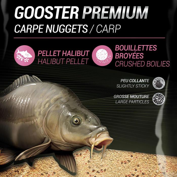 Lokvoer Gooster Premium karper nuggets 1 kg