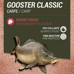 AMORCE GOOSTER CLASSIC CARPE FRAISE ROUGE 1kg
