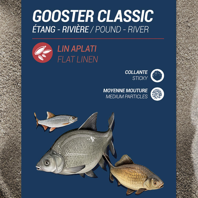 Gooster All Fish Bait 4x4 Black 4.75kg