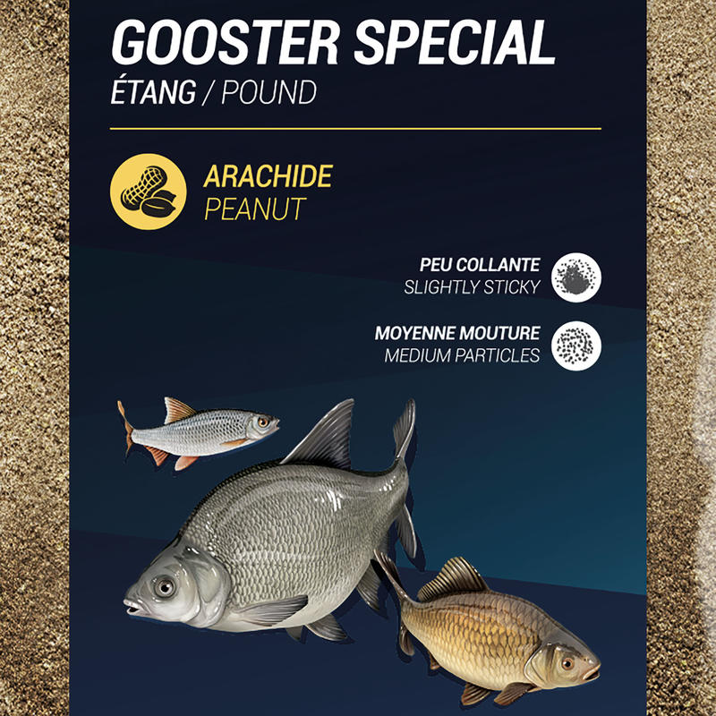 Gooster Special All Fish Pond Bait 4.75 kg