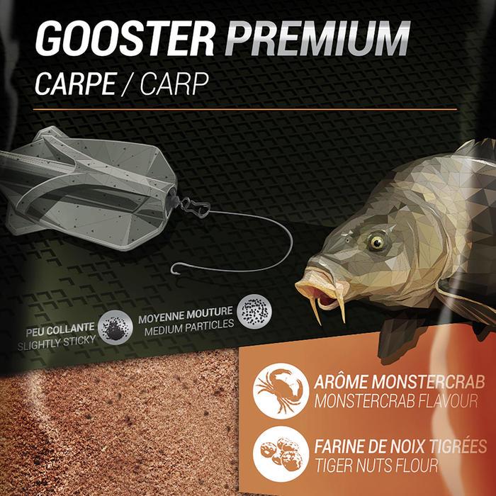 Lokvoer Gooster Premium karper method feeder oranje 1 kg