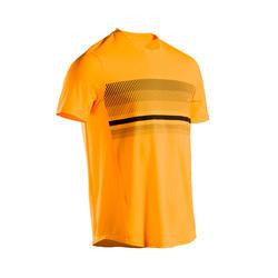男款網球T恤TTS100 - 黃色