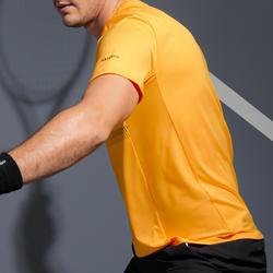Tennisshirt voor heren TTS100 geel