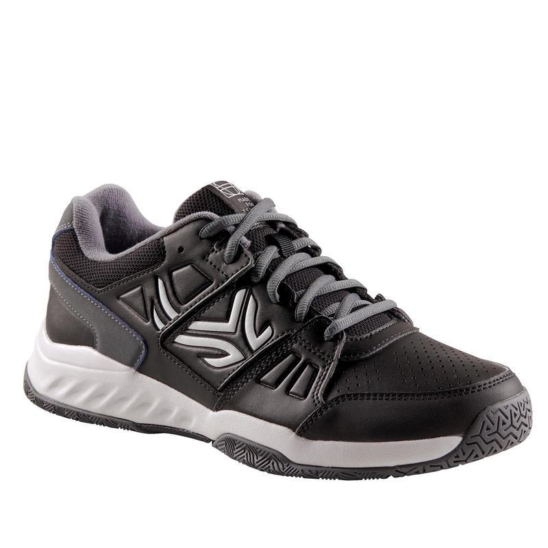 Erkek Tenis Ayakkabısı - Siyah - TS160 MULTI